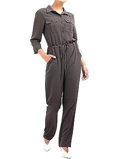 Dorothy Perkins Denim Boiler Belted Jumpsuit Mono para Mujer