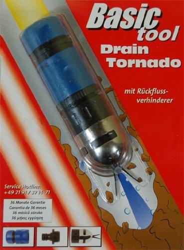 "Mannesmann - M60400 - Juego de manguera de limpieza para tuberías ""Drain Tornado"""