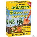 Blumen- und Gemüsedünger - 2,5 kg