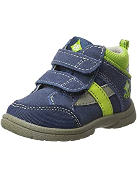 Lico - Zapatos de cordones de Piel para niño Azul azul