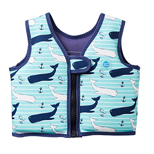 Splash About Kinder Go Splash Schwimmveste Go Splash, Blau (Vintage Moby), 2 - 4 Jahre