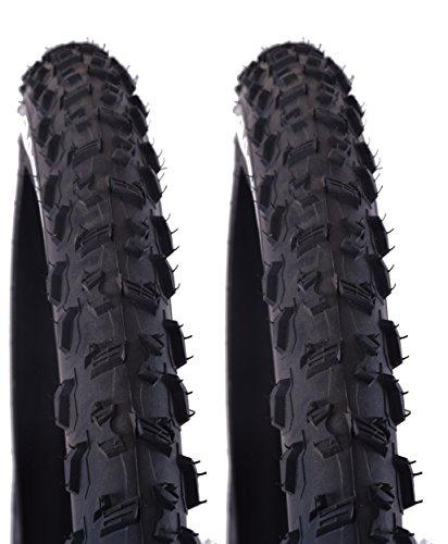 Vittoria Gato Cross Country Tubeless 73,7x 5,3cm (54-622) 29er MTB pneumatici per bicicletta pieghevole (Coppia) Nero