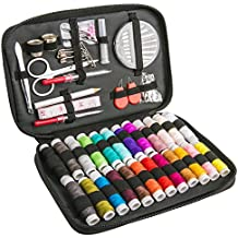 Kit de Costura, Luxebell 92 De Coser Accesorios, Portátil Casa De Coser Conjunto para