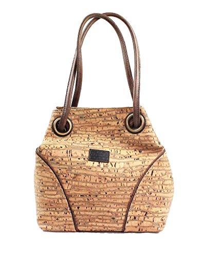 SHOULDER CORK CROSS-BODY BAG by Dux Cork GENUINE PORTUGUESE PREMIUM Cork Fabric 100% QUALITY GUARANTEE