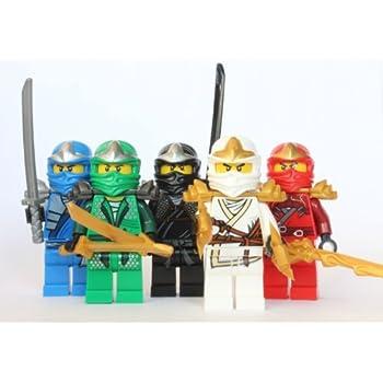 Lego ninjago 5 zx ninjas lloyd kai cole jay zane - Ninjago kai jay zane cole lloyd ...