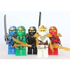 Lego ninjago 5 zx ninjas lloyd kai cole jay zane - Ninjago kai zx ...
