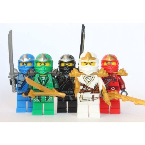 LEGO Ninjago - 5 ZX Ninjas - Lloyd, Kai, Cole, Jay & Zane