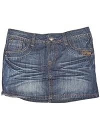 Fresh Made Denim Brand wunderbarer Minirock XS, 5 pocket style, dunkelblau, used parts