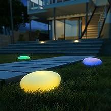 Luces Solares, Luz Solar Jardín, Kealive Lámparas Solares Led, Lluminación Exterior 8 Colores