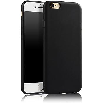 492edaa1bf6bda SDTEK Case For iPhone 6s (Black) Matte Cover Premium Matte Soft Case  [Silicone