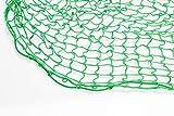 Containernetz, Anhängernetz, PKW-Netz, Abdecknetz, 2,5 x 4,5 m, grün, 30 mm