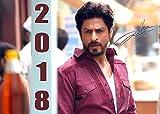 Shahrukh Khan Calender - A4 Wandkalender 2018 (13 Blätter, Farbig, Spiralbindung)