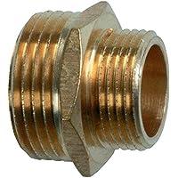 Cornat válvulas y Conexiones Reductor de bicónica (latón, Rosca Exterior 1+ 3/4Pulgadas, a la reducción de Rosca, Multicolor