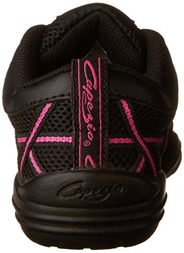 Capezio Web Dance Damen Sneaker Schwarz / Hot Pink