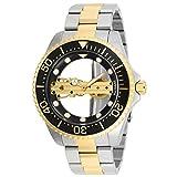 Die besten Invicta von 2 Töne - Invicta Pro Diver Herren-Armbanduhr 47mm Zwei Ton Handaufzug Bewertungen