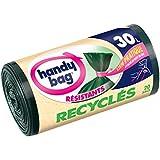 Práctico Bolsa 4008871205094 bolsas de basura con cinta para el cierre 30 l 50 x 70 cm 20 piezas por rollo 4 rollos