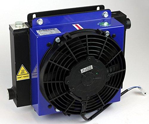 Hydraulik ÖLKÜHLER HYDRAULIKÖLKÜHLER + LÜFTER 230V Hydraulikkühler Luft - Öl Wärmetauscher Hydraulik