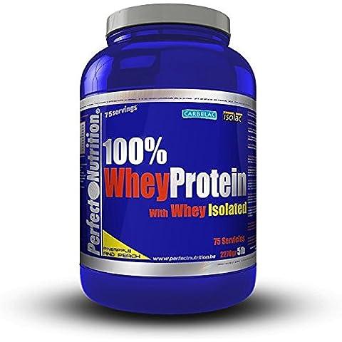 Perfect Nutrition 100% Whey Protein + ISO, Suplementos de Proteínas, Sabor a Melocotón / Piña - 2270 gr