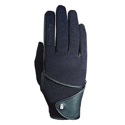 Roeckl Sports Handschuh Madison, Unisex Reithandschuh, Weiß 8,5