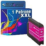 PlatinumSerie® 1x Druckerpatrone XXL mit Chip und Füllstandsanzeige kompatibel für HP 933 XL Magenta für HP Officejet 6100 eprinter HP Officejet 6600 E-ALL-IN-ONE HP Officejet 6700 Premium