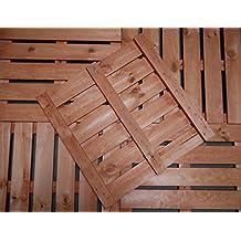 Holzfliesen Balkon suchergebnis auf amazon de für holzfliesen balkon 50x50