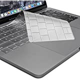 Oaky Keyboard Skin Cover For Newest MacBook Pro 15 Inch Without TouchBar 2016/2017 (Model: A1708) & MacBook Pro Retina 12 Inch Keyboard Cover Case (Model: A1534) Ultra-Thin Waterproof Keyboard Protector TPU Keyboard Cover Waterproof Dust-proof Clear T