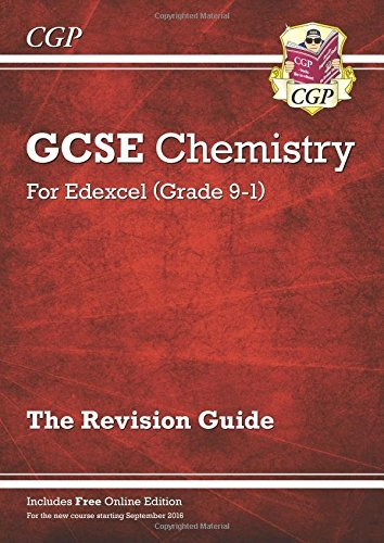 New Grade 9-1 GCSE Chemistry: Edexcel Revision Guide with Online Edition by CGP Books (2016-04-30)