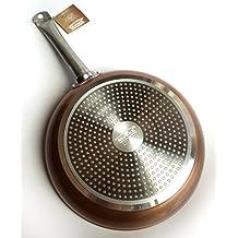 Royal Chef - Sartén Profesional de Aluminio Forjado - Recubrimiento Antiadherente Premium - Ø ...