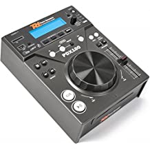 Power Dynamics PDX100 HiFi CD player Black - CD Players (20-20000 Hz, 20 W, 220-240, 290 mm, 226 mm, 107 mm)