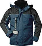 Outdoor-Thermojacke ELYSEE BLACKPOOL Marineblau Wasserdicht, Größe XL
