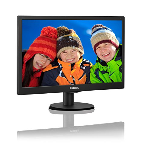 Philips 193V5LSB2 185 inch V lines LED present Monitor 1366 x 768 p DDR3 SDRAM 876 W Black Products