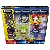 Nuovo set di 4 caratteri dalla tua serie preferita Yo Kai Watch.