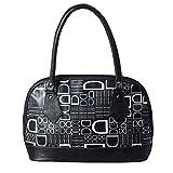 DK Women's Handbag (5gala,black,34x25x9 cm)