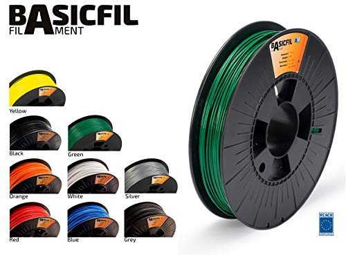 BASICFIL PLA 1.75mm 500 g, GRÜN (green), 3D Drucker Filament