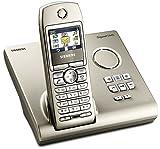 Siemens Gigaset S445 silber, schnurlos Telefon DECT, Freisprechen, Farbdisplay, Sprachwahl und AB