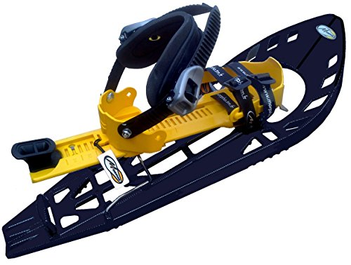 Morpho Super trimoalp raquetas, Unisex, Super trimoalp, negro/amarillo, talla única