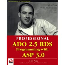 Professional ADO 2.5 RDS Programming with ASP 3.0