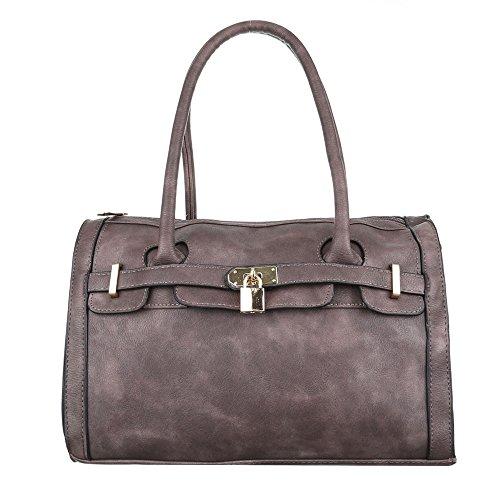 Ital-Design  Baguette-tasche Bei Ital-design, Sac à main femme marron