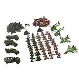 Gazechimp 210 Stück Actionfiguren Armee Militär Modell für Kinder Lernspielzeug, Idea auch als Haus Tisch Dekoration Geschenk