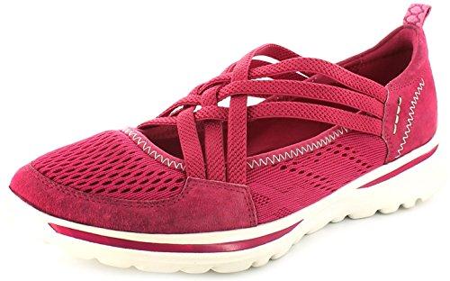Donna Earth Spirit piatto e leggero casual sandali scarpe Pink