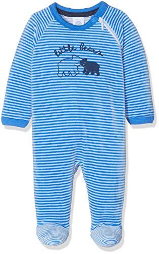 Sanetta Baby-Jungen Overall Zweiteiliger Schlafanzug, Blau (Azur 50283.0), 56