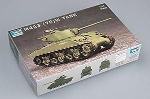 Trumpeter 7226 - Maqueta de tanque M4A3 76 (W) importado de Alemania