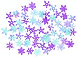 Christmas Decorations, Party, Celebration, Presents, Family, Snow, Father Christmas, Winter, Reindeer (Purple Snowflake confetti)