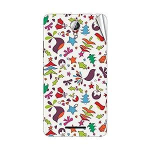 Garmor Designer Mobile Skin Sticker For Lenovo S890 - Mobile Sticker