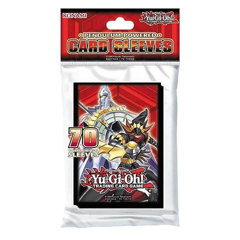 Yu-Gi-Oh - Packung mit 70 Pendulum Powered Kartenhüllen - KON349045 -. Konami