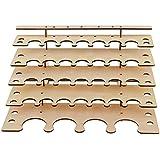 Sharplace 1x Porte-Brosse Support Pinceaux Brushes Organisateur Outils Accessoire DIY Pièce Peinture Organisateur