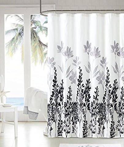 Sinland Rideau de douche - étanche moisissure Preuve Polyester Tissu