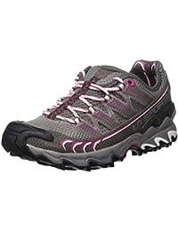 La Sportiva Ultra Raptor - Deportivos de running para mujer, color gris / rosa, talla 39