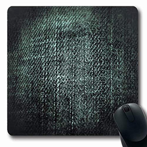 Blank Denim-denim (Gsgdae Mousepads Kleid Canvas abstrakt Vintage Black Denim Blue Jeans Blank Dark Oblong Shape 20,1 x 24,1 cm Längliches Gaming Mauspad Anti-Rutsch Mauspad)