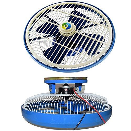 UIEJHN 30W Auto Deckenventilator Lüfter Kühlung Leistungsstarke leise Geringer Energieverbrauch Platz sparen,12V